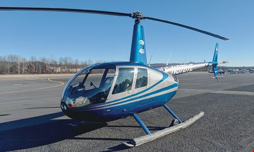 Product image for Interstate Aviation Inc. @ Oxford Airport $129.55 For A Half-Hour Scenic Helicopter Flight For 2 People (Reg. $259.10)