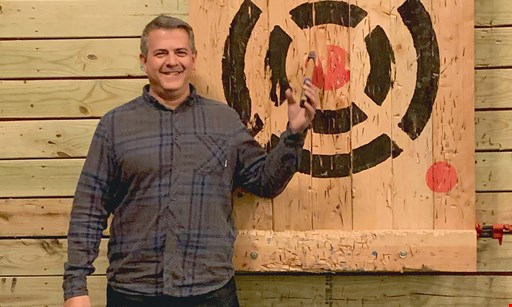 Product image for Stumpy's Hatchet House $50 For 1 Hour Of Axe Throwing Fun For 4 People (Reg. $100)