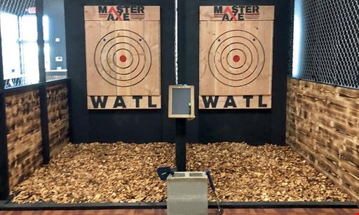 Product image for Master Axe Downers Grove $24 For A 1-Hour Axe Throwing Session For 2 (Reg. $48)