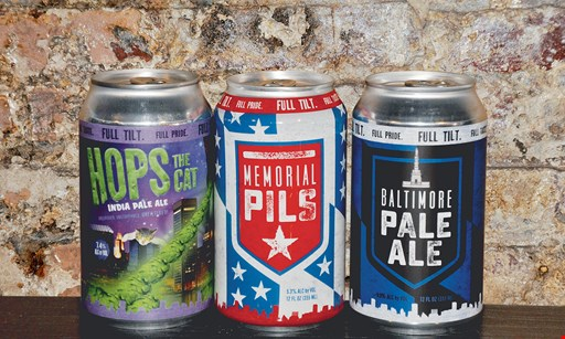 Product image for Full Tilt Brewing $12.50 For A Beer Flight For 2 People & A Souvenir Glass (Reg. $25)