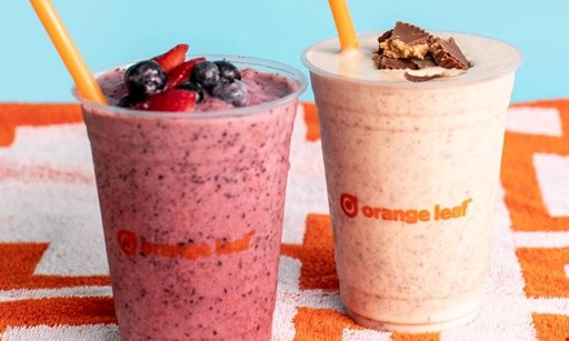 Product image for Orange Leaf $10 for $20 Worth of Frozen Yogurt Treats and More