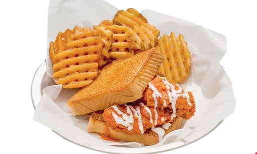 Product image for Atomic Wings $10 For $20 Worth Of Wings, Sandwiches & More (Also Valid On Take-Out W/Min. Purchase $30)