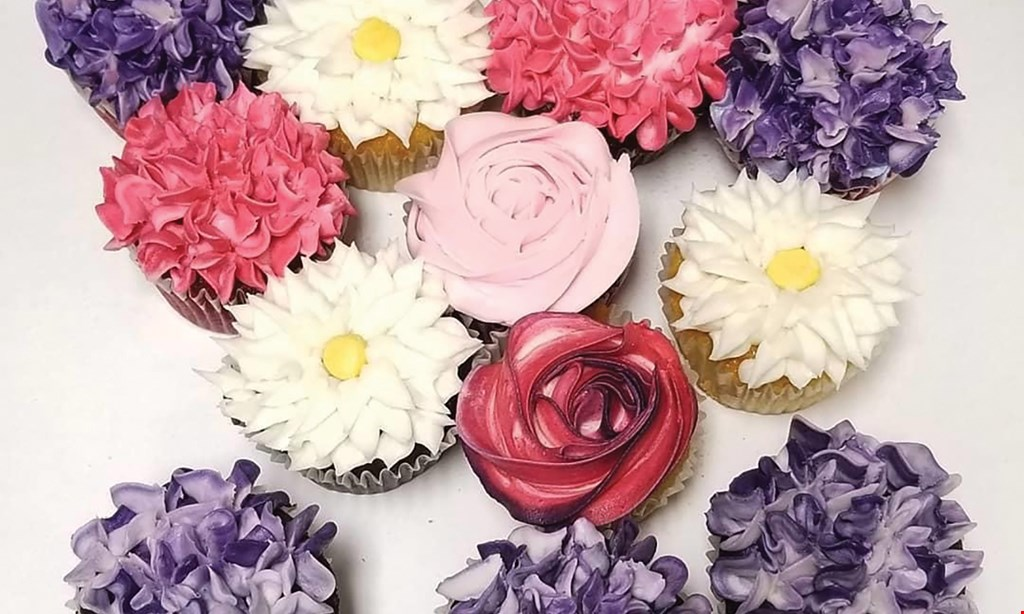 Product image for Piece O' Cake $13.50 For 1 Dozen Cupcakes (Reg. $27)