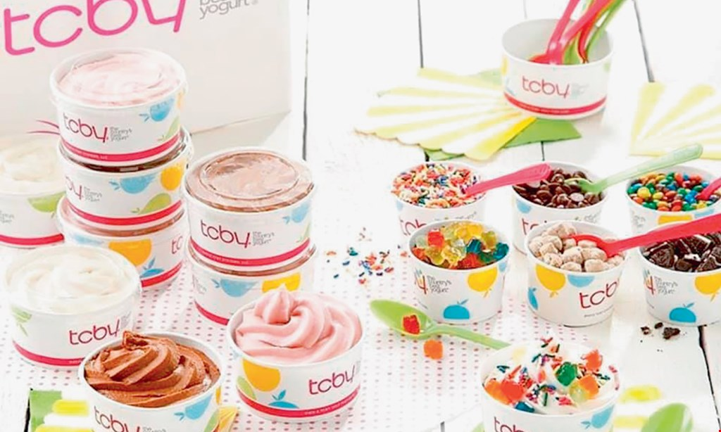 Product image for TCBY $10 For $20 Worth Of Frozen Yogurt Treats
