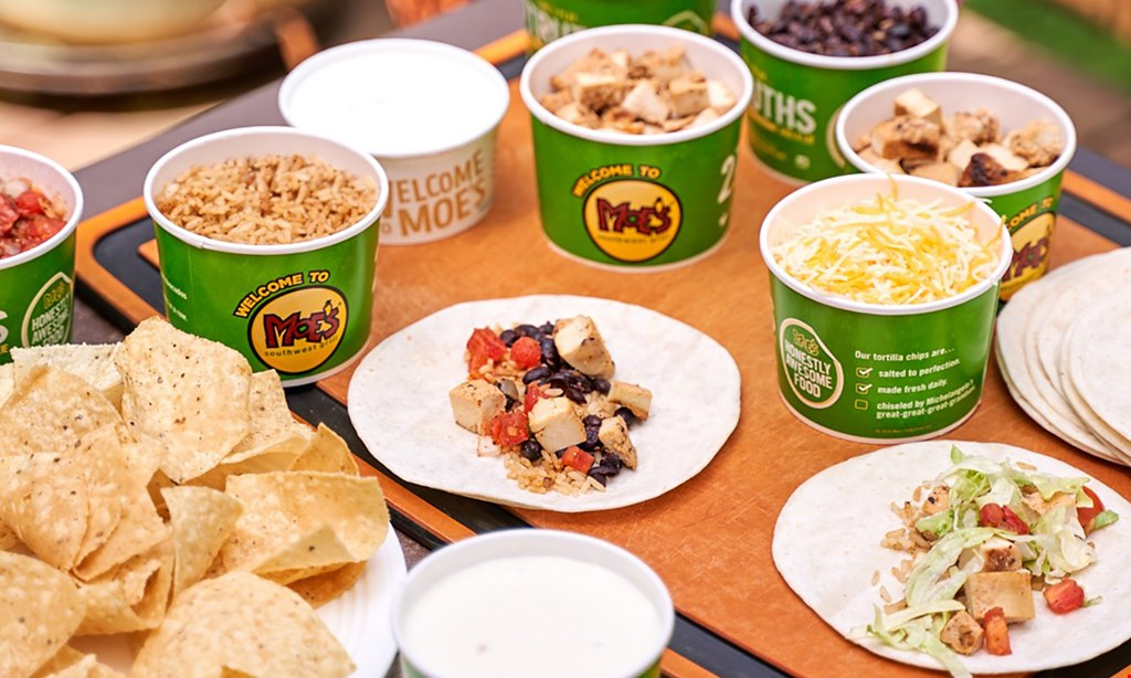 Product image for Moe's Southwest Grill - Patchogue $10 For $20 Worth Of Southwestern Cuisine (Also Valid On Take-out & Curbside Pickup With Minimum Purchase Of $30)