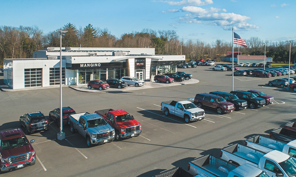 Product image for Mangino Buick Gmc $110 For 2 Hours Of Labor In The Service Dept (Reg $220)