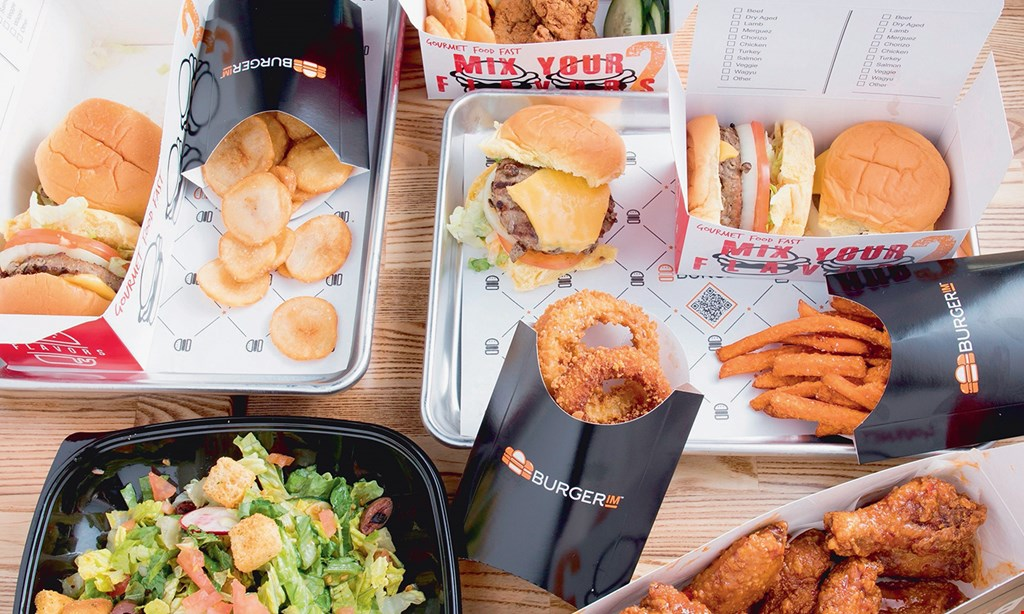 Product image for BurgerIM $10 For $20 Burgers & More (Also Valid On Take-Out W/Min. Purchase $30)