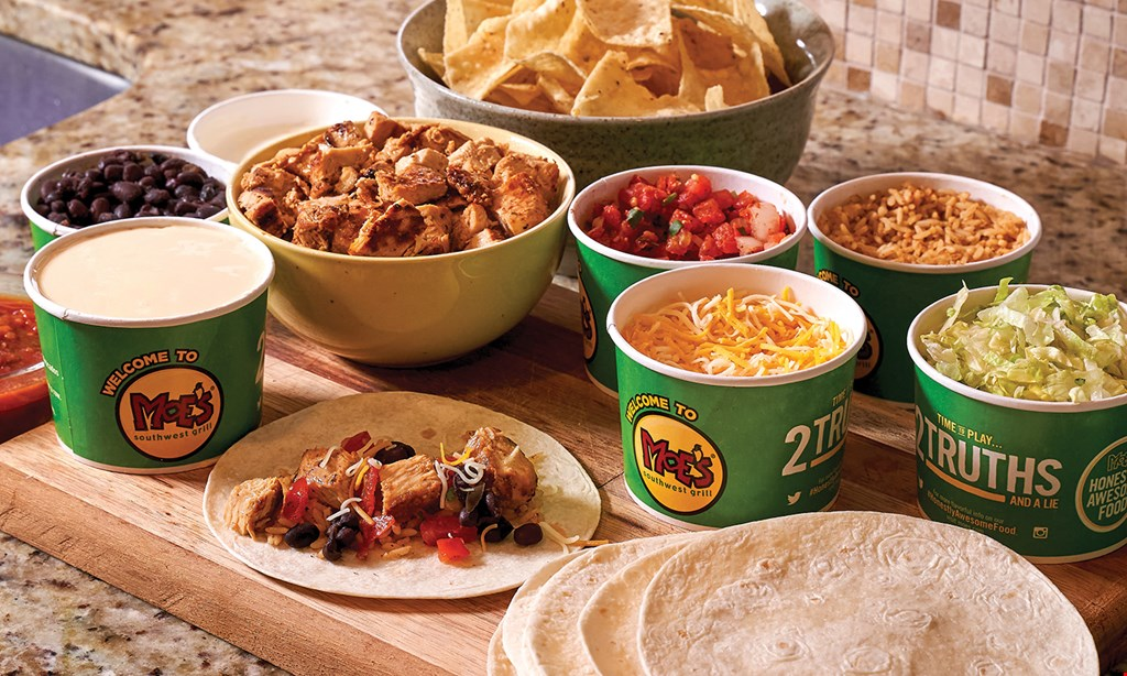 Product image for Moe's Southwest Grill - Edgewater $10 For $20 Worth Of Casual Southwest Dining