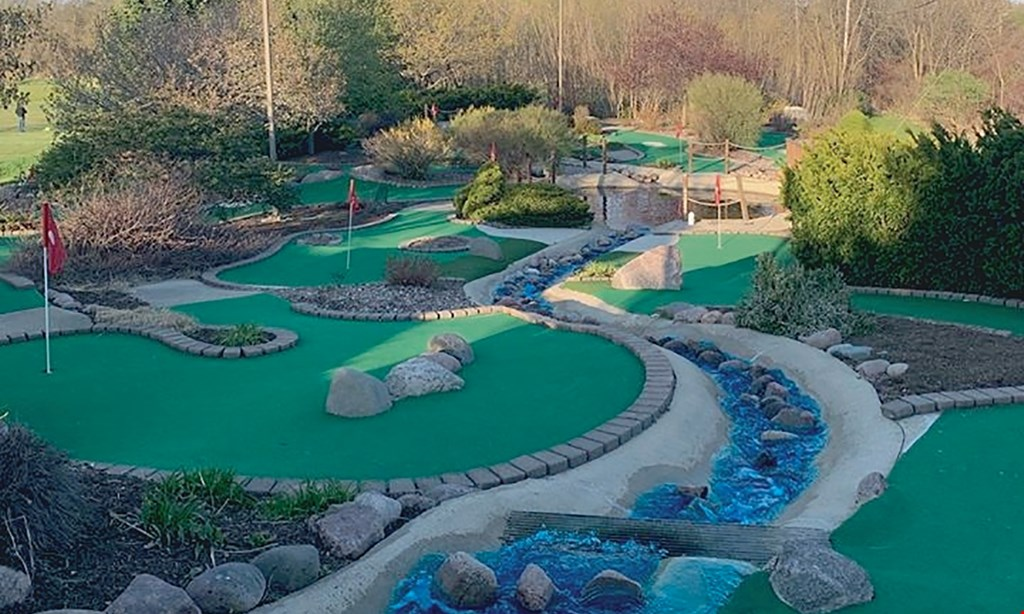 Product image for Gastrau's Golf Center $18 For 1 Round Of Mini Golf For 4 People & 4 Sodas (Reg. $36)