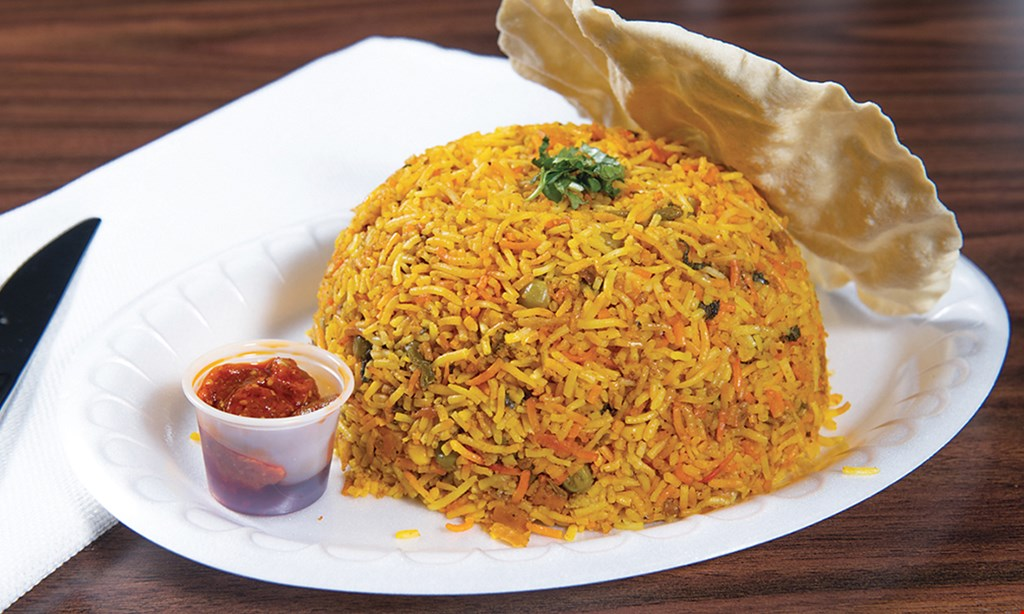 Product image for Balaji Cafe $10 For $20 Worth Of Indian Dining (Also Valid On Take-Out W/ Min. Purchase Of $30)