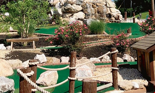 Product image for Bill Mack's Ice Cream & Mountain Mist Mini Golf $14 For A Round Of Mini Golf For 4 People (Reg. $28)