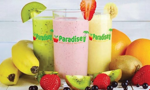 Product image for Paradise World Foods & Smoothies $10 For $20 Worth Of Smoothies & Casual Dining