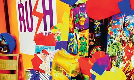 Product image for The Rush Fun Park $18.45 For (2) 2-Hour Fun Park Passes With RUSH Socks (Reg. $36.90)