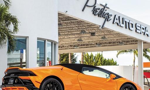 Product image for Prestige Auto Spa $12.15 For A Prestige Tunnel Exterior Car Wash (Reg. $24.30)