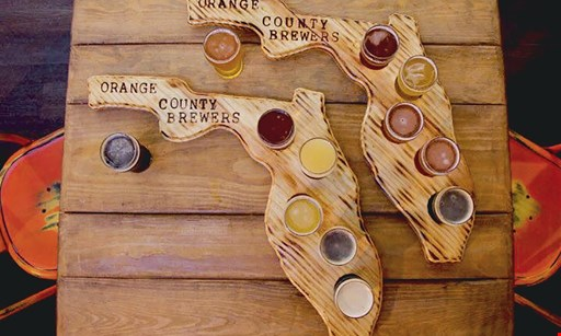 Product image for Orange County Brewers $12 For A Beer Flight Tasting For 2 (Reg. $24)