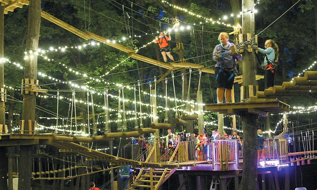 Product image for The Adventure Park At Nashville $24.50 For 3 Hours Of Zipline & Climbing Fun (Reg. $49)