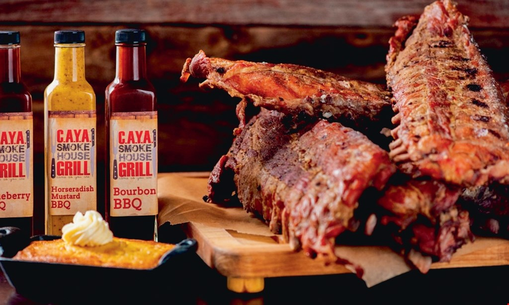 Product image for C.A.Y.A. Smokehouse Grill $15 For $30 Worth Of Casual Dining (Also Valid On Take-Out W/Min. Purchase of $45)