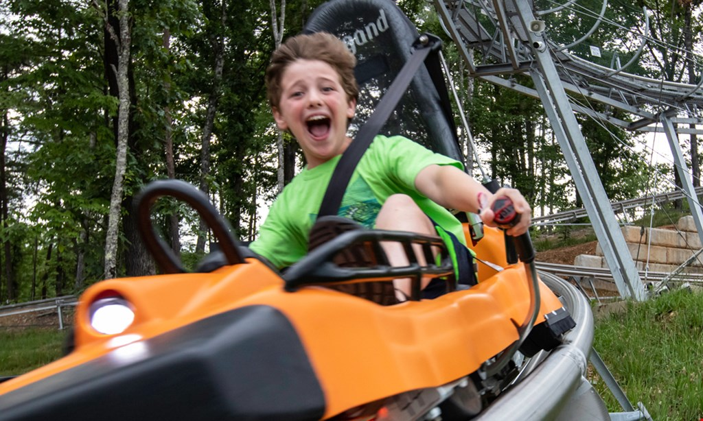 Product image for Rocky Top Mountain Coaster $18 for 2 Adult Mountain Coaster Rides (Reg. $36)