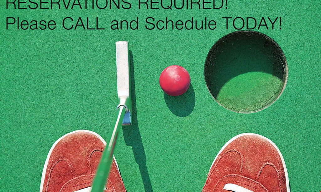Product image for Clubhouse Fun Center $20 For 2 Rounds Of Mini-Golf, 2 Ice Creams & 80 Balls In The Batting Cage (Reg. $40)