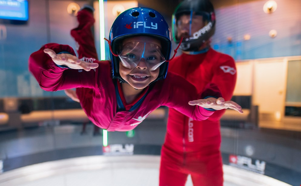 Product image for Ifly Jacksonville $79.99 for a 2 flyer package, includes 2 flights per person plus digital video & photo ($159.98 value)