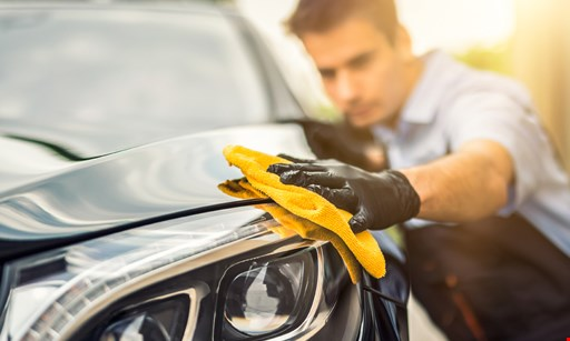 Product image for Wax Works Auto Detailing $95 for an inside & outside Auto Detailing, including engine wash (Reg. $195)
