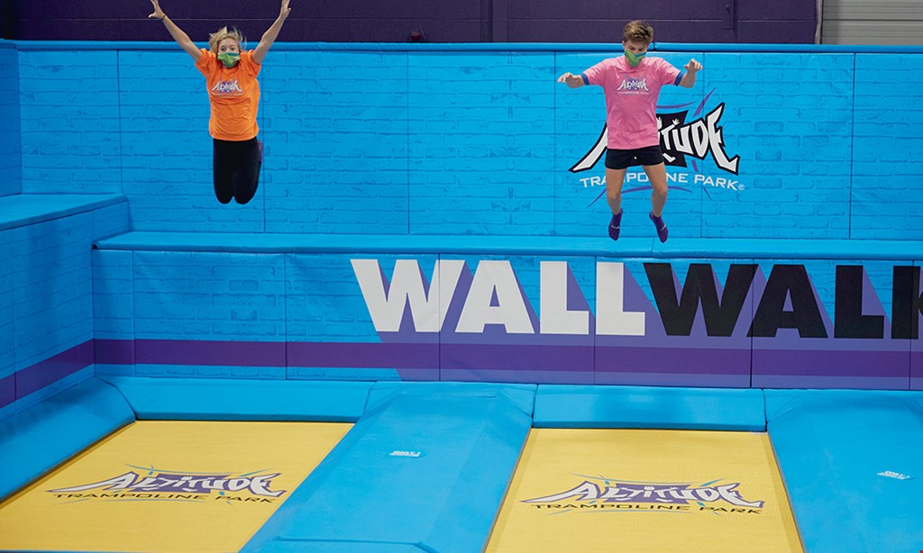 Product image for Altitude Trampoline Park $15.95 For 1-Hour Of Jump Time For 2 People (Reg. $31.90)