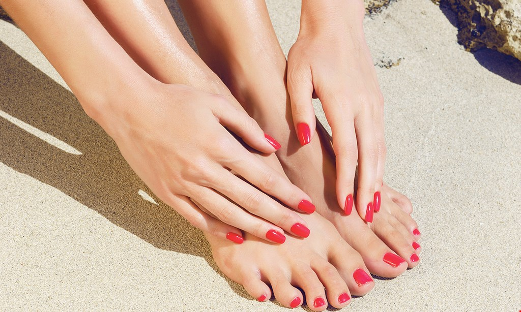 Product image for Convoite Nails $35 For A Spa Pedicure & Regular Manicure (Reg. $70)