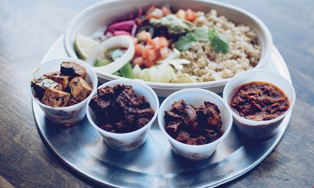 Product image for Burrito Bowl $15 For $30 Worth Of Mexican Cuisine