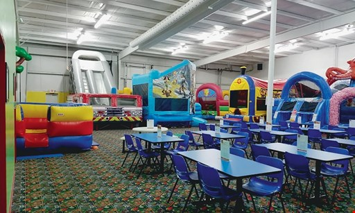 Product image for Jump!Zone $12 For An All-Day Open Bounce Session For 2 Kids (Reg. $24)