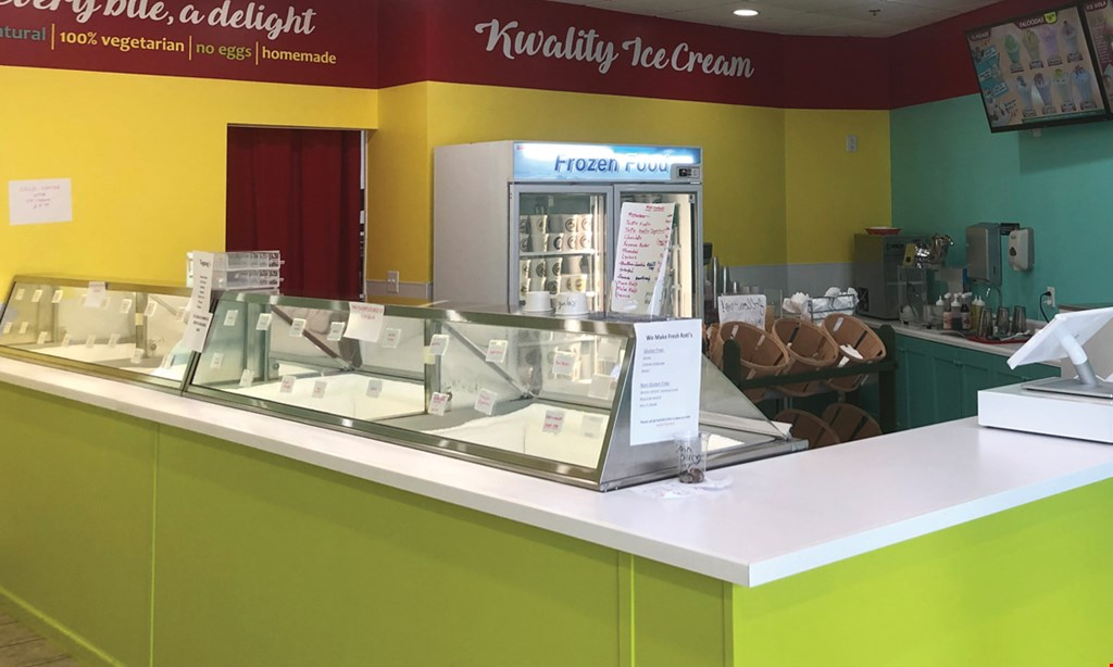 Product image for Kwality Ice Cream & Bakers $10 for $20 Worth of Ice Cream, Smoothies & Shakes