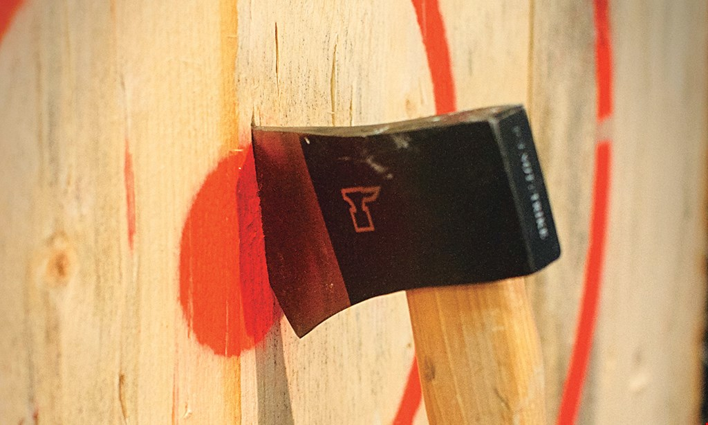 Product image for Team Escape 262 $60 For 75 Minutes Of Axe Throwing For 4 (Reg. $120)