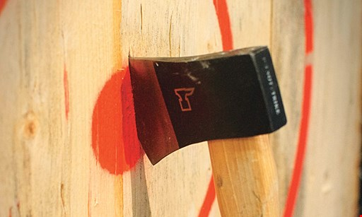 Product image for Adirondack Axe $25 For 1 Hour Of Axe Throwing For 2 People (Reg. $50)