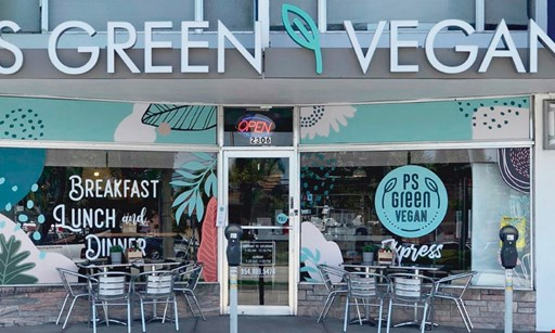 Product image for PS Green Vegan Express $15 For $30 Worth Of Casual Dining