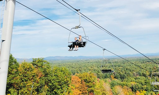 Product image for West Mountain $15 For A Scenic Chairlift Ride For 2 People For Fall 2020 Season (Valid 9/16/20-10/18/20) (Reg $30)