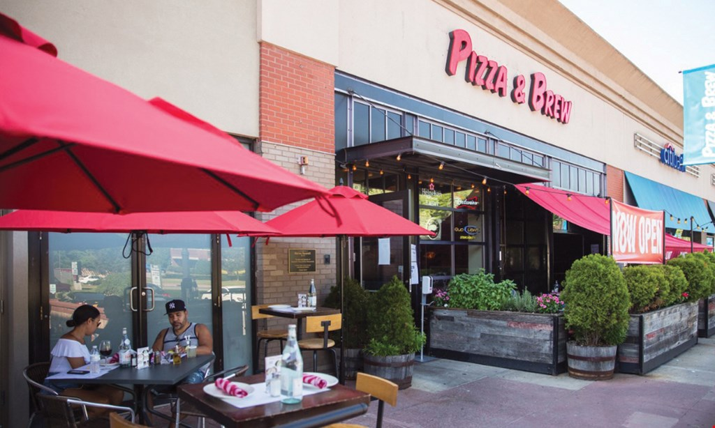 Product image for Pizza & Brew Scarsdale $20 For $40 Worth Of Casual Italian (Also Valid On Take-Out & Delivery W/Min. Purchase Of $60)