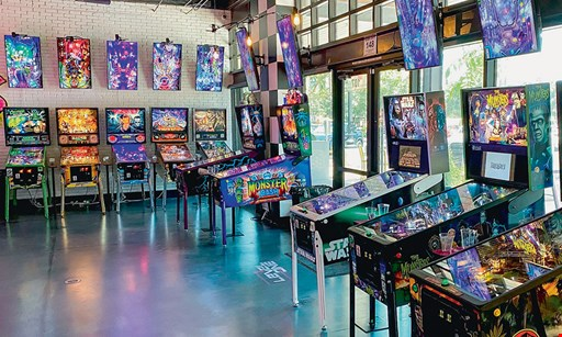 Product image for Level One Arcade Bar $15 For $30 Worth Of Games & Casual Dining