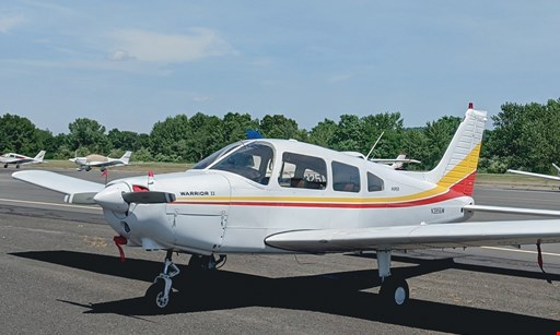 "Product image for Interstate Aviation Inc. @ Oxford Airport $49.50 For A 30-Minute ""Learn How To Fly"" Discovery Passenger Flight For 1 (Reg. $99)"