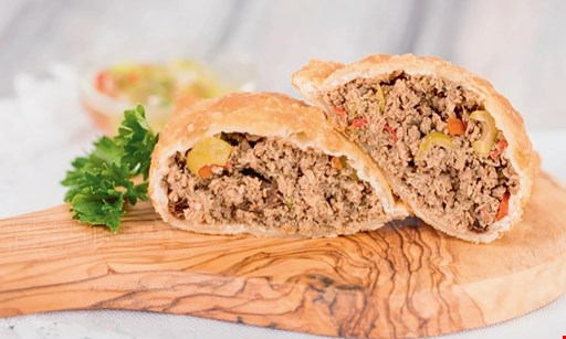 Product image for Tasty Empanadas $10 For $20 Worth Of Empanadas & More (Also Valid On Take-Out W/Min. Purchase Of $30)