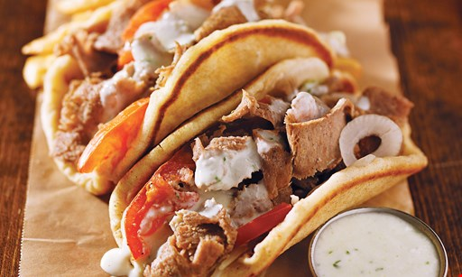Product image for Off The Grill $10 For $20 Worth Of Mediterranean Cuisine (Also Valid On Take-Out W/Min. Purchase Of $30)
