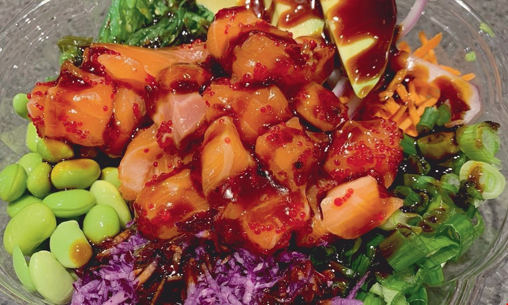 Product image for Blowfish Poke $15 For $30 Worth Of Poke Bowls & More (Also Valid On Take-Out W/ Minimum Purchase Of $45)