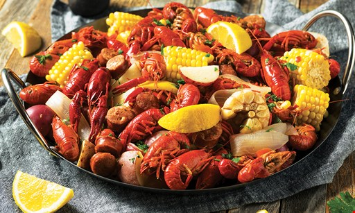 Product image for Crab Du Jour - Havertown $15 for $30 Worth of Cajun Seafood (Also Valid On Take-Out W/Min. Purchase of $45)