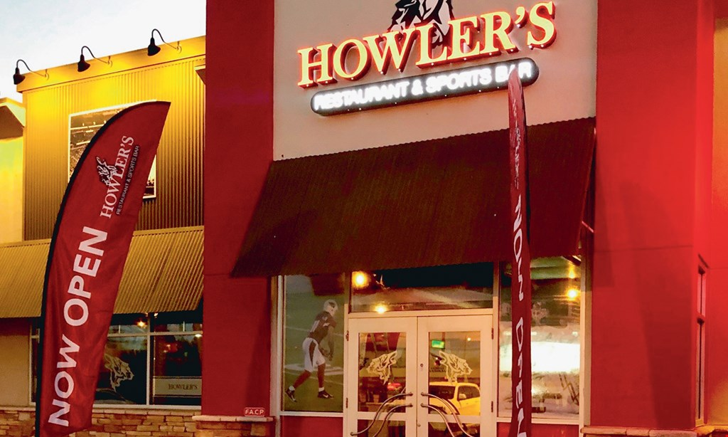 Product image for Howler's Restaurant & Sports Bar $15 For $30 Worth Of Casual Dining