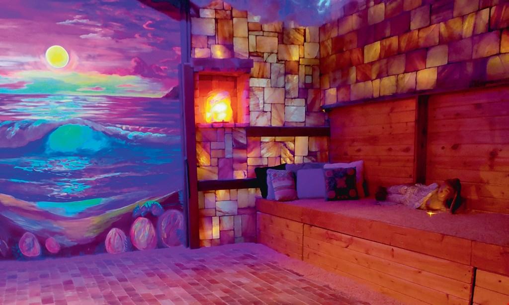 Product image for The Salt Escape - Arlington Heights $30 For (2) 50-Minute Salt Cave Sessions (Reg. $60)