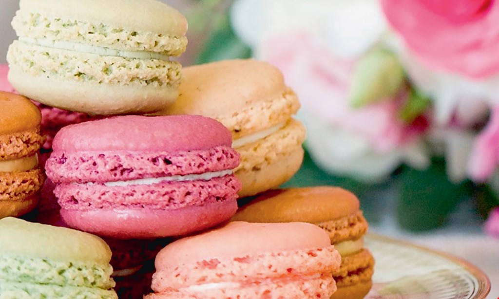Product image for Le Macaron $10 For $20 Worth Of Macarons, Gelato, Cakes & More