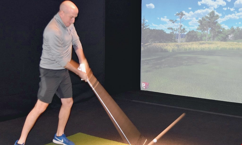 Product image for The Hole 18 $37.50 For A 1-Hour Simulated Golf Session (Reg. $75)