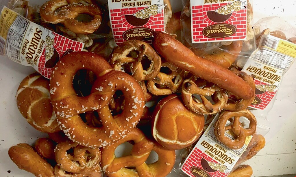 Product image for Revonah Pretzel $10 For $20 Worth Of Pretzel Products