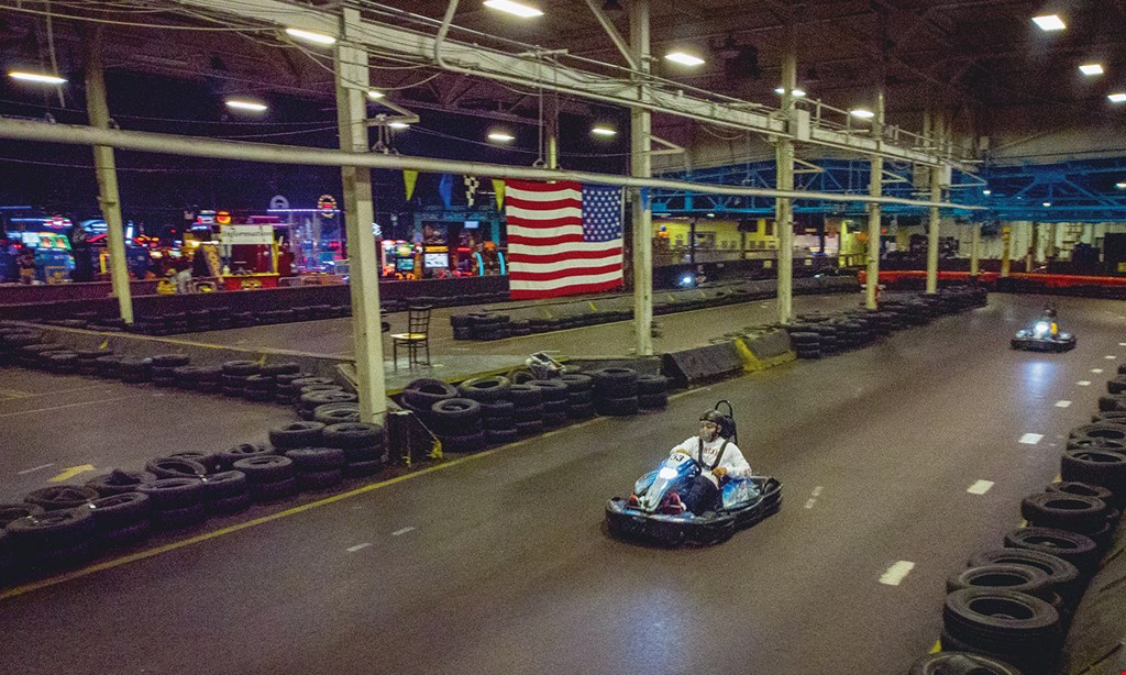 Product image for Arnold's Family Fun Center $25 For 4 Arnold's Go-Kart Rides 2 Per Person For 2 People (Reg. $50)