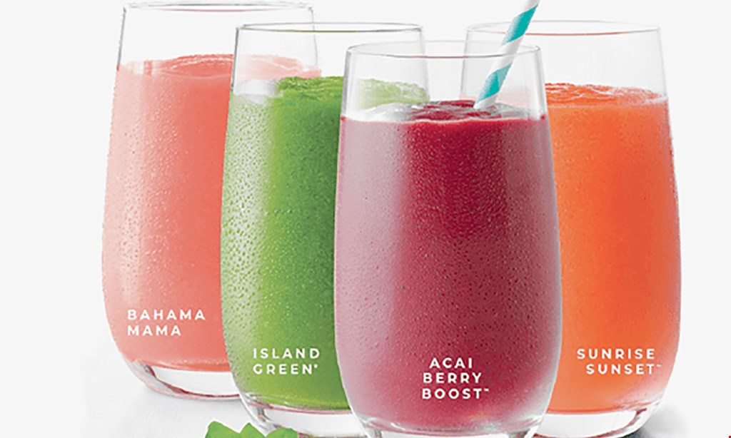 Product image for Tropical Smoothie Cafe-Pittsburgh $10 For $20 Worth Of Smoothies & Cafe Fare