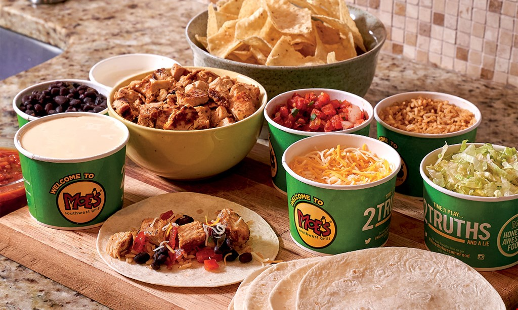 Product image for Moe's Southwest Grill $12.50 For $25 Worth Of Southwest Cuisine