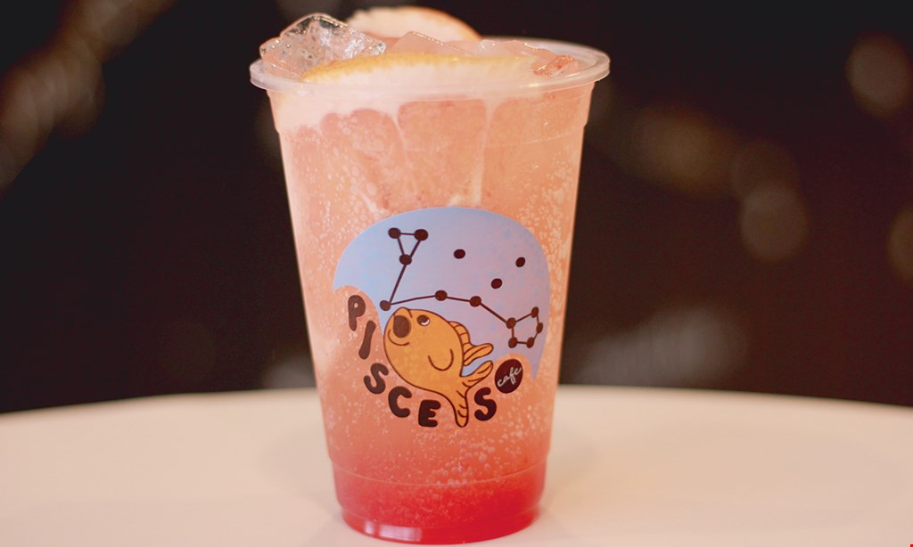 Product image for Pisces Cafe $10 For $20 Worth Of Smoothies, Coffees & Teas